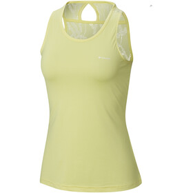 Columbia Peak to Point Novelty - Camisa sin mangas Mujer - amarillo
